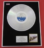 BLONDIE - Autoamerican PLATINUM LP PRESENTATION Disc
